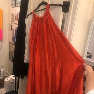 H&M unique maxi/coverup dress Medium EUC